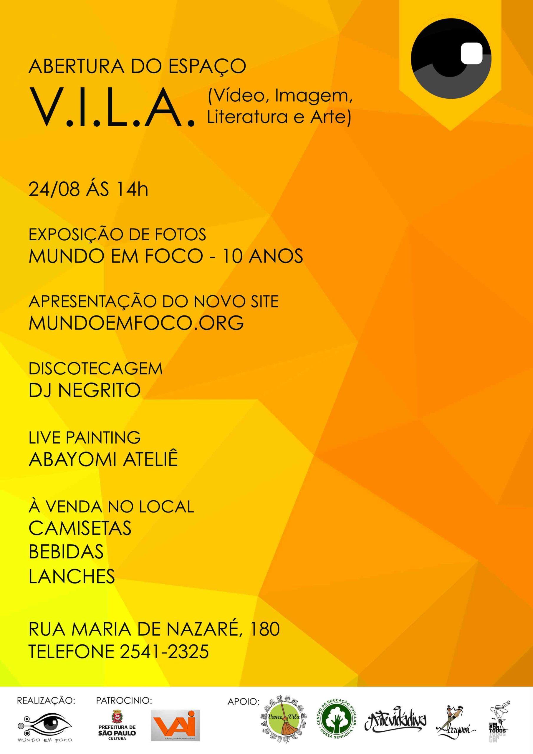 Read more about the article Abertura da V.I.L.A.