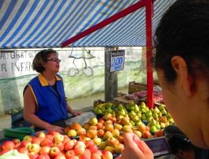 Ozana, depoimento, frutas